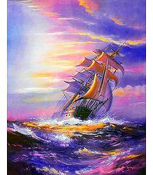 Buy Ship Wreck Poster