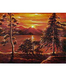 Buy Sunset Poster