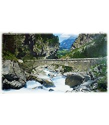 Kander River in Gasterntal - Switzerland Poster