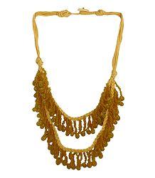 Methi Yellow Beaded Necklace