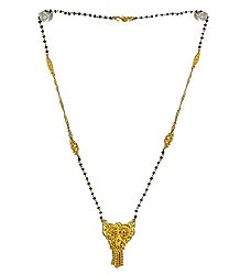 Gold Plated Mangalsutra with Pendant