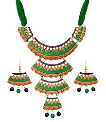 Buy Online Terracotta Designer Necklace Set