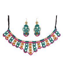 Macrame Thread Necklace