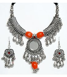 Metal Necklace from Gujarat