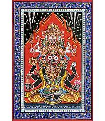 Jagannath Patta Painting