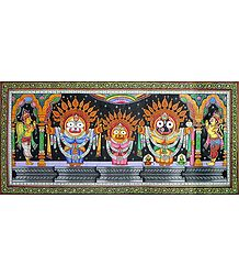 Jagannath, Balarama and Subhadra