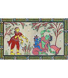 Putana Vadh by Krishna