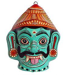 Papier Mache Asura Mask - Buy Online