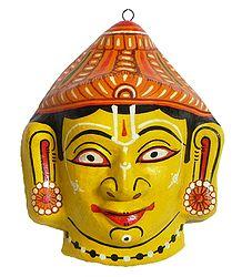 Papier Mache Balaram Mask