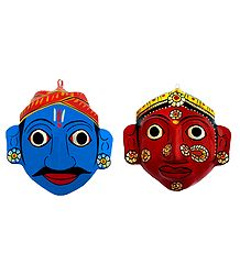 Cheriyal Masks from Telengana
