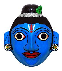 Krishna Cheriyal Mask from Telengana