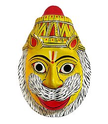 Narasimha Avatar Mask from Telengana - Wall Hanging