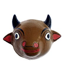 Cow Cheriyal Mask from Telengana
