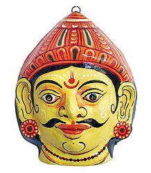 Papier Mache Mask of Duryadhan