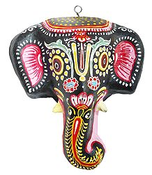 Buy Papier Mache Elephant Mask