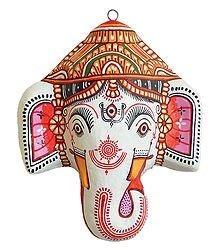 Papier Mache Ganesha Mask