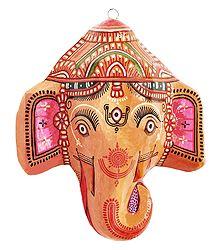 Shop Online Papier Mache Ganesha Mask