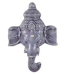 Papier Mache Sculpture of Ganesha