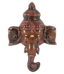 Papier Mache Sculpture of Ganesh