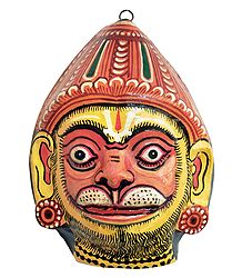 Shop Online Hanuman Mask