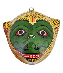Buy Papier Mache Mask of Hanuman