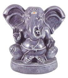 Papier Mache Statue of Ganesha