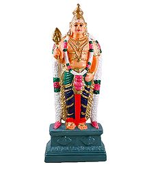 Buy Lord Murugan - Papier Mache Statue