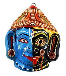 Papier Mache Mask of Krishna Kali