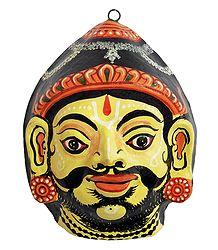 Papier Mache Mask of Parashurama