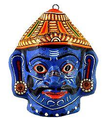 Papier Mache Mask of Ravana