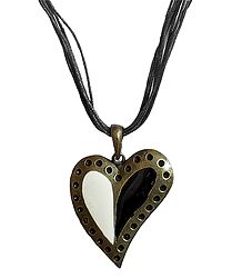 Heart Design Metal Pendant