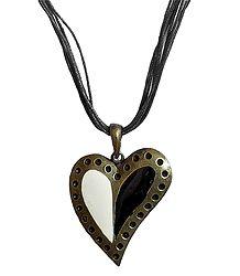 Heart Design Metal Pendant