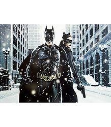 Batman & Catwoman Poster