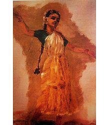 Bharatnatyam Dance Pose