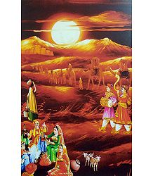 Buy Rajasthani People Poster