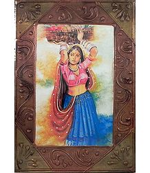 Vegetable Seller - Wall Hanging