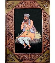 Flute Player - Print on Hardboard - Wall Hanging
