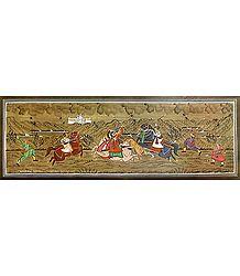 Indian Maharaja Hunting Tigers