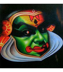 Kathakali Face
