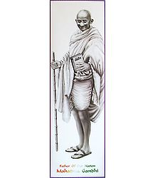 Mahatma Gandhi - Poster