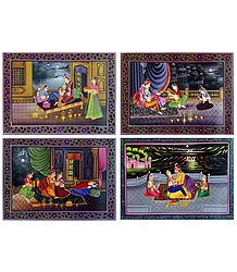 King's Harem - Set of 4 Posters