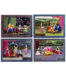 King's Harem - Set of 4 Posters