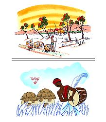 Shepherd and Dhaki - Set of 2 Posters