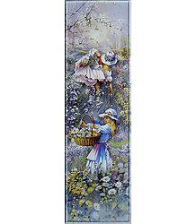 Blossoming Childhood - Unframed Poster