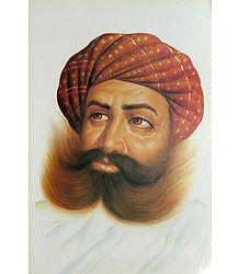 Rajasthani Man - Poster