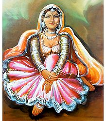 Rajasthani Damsel