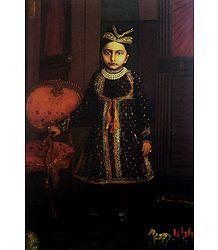 Princess Putla Raje - Buy Raja Ravi Varma Reprint