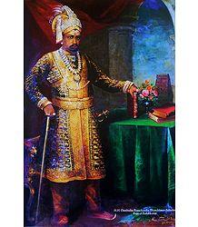 Reprinted Raja Ravi Varma Painting