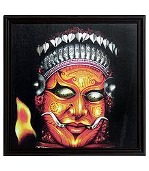 Theyyam Dancer - Framed Picture