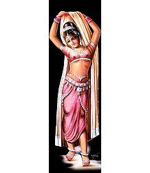 Dancing Beauty - Unframed Poster